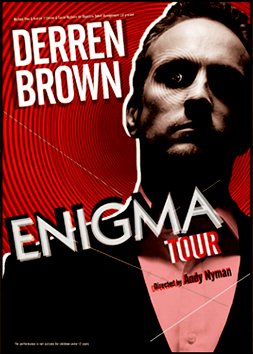 DERREN BROWN TOUR POSTER